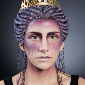 """Atropos"" Fantasy wig of Ancient greek goddess of fate"